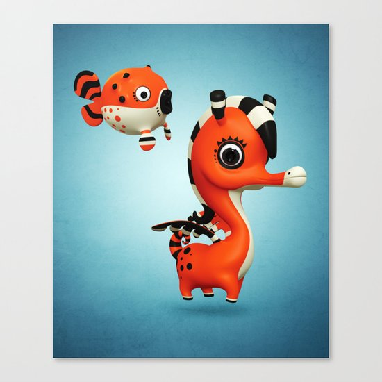 Seagasus Canvas Print
