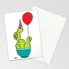 Party Cactus Stationery Cards