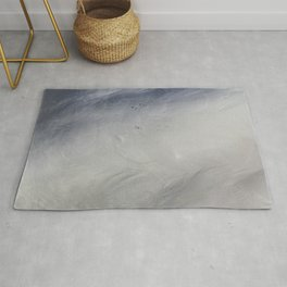 Swan Feathers Rug