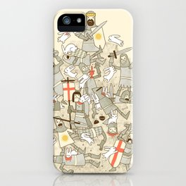 Bad Tempered Rodents iPhone Case
