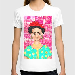 Frida OK Pink T-shirt