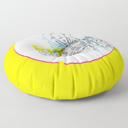 Bit Magic Floor Pillow