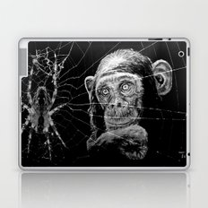 WATCHING THE SPIDER Laptop & iPad Skin