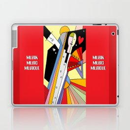 Music in pictures Laptop & iPad Skin
