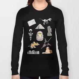 Archeo pattern Long Sleeve T-shirt