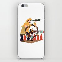 captain iPhone & iPod Skins featuring Captain by Design4u Studio