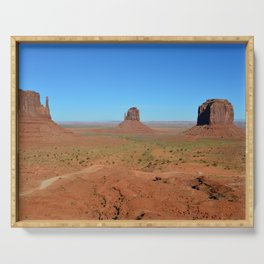 Touring Monument Valley Serving Tray