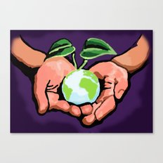 Care For Environment Canvas Print