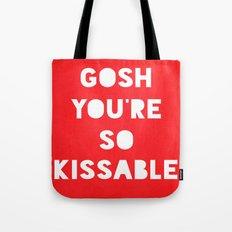 Gosh (Kissable) Tote Bag