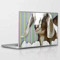 dessert Laptop & iPad Skins featuring In search of dessert by C...