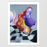 Sexual Intentions Art Print
