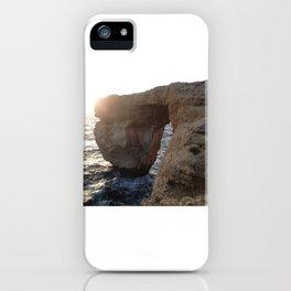 The Azure Window of Dwejra iPhone Case