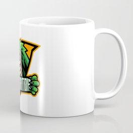 Alligator Sport Mascot Logo Design Coffee Mug