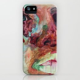 face rotting iPhone Case