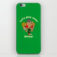 cowboy bebop iPhone & iPod Skins featuring Bebop by Giovanni Costa