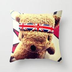 Olympic Palin Throw Pillow