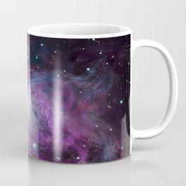 Orion Nebula Purple teal full Coffee Mug