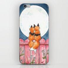 Fox Sweethearts iPhone & iPod Skin