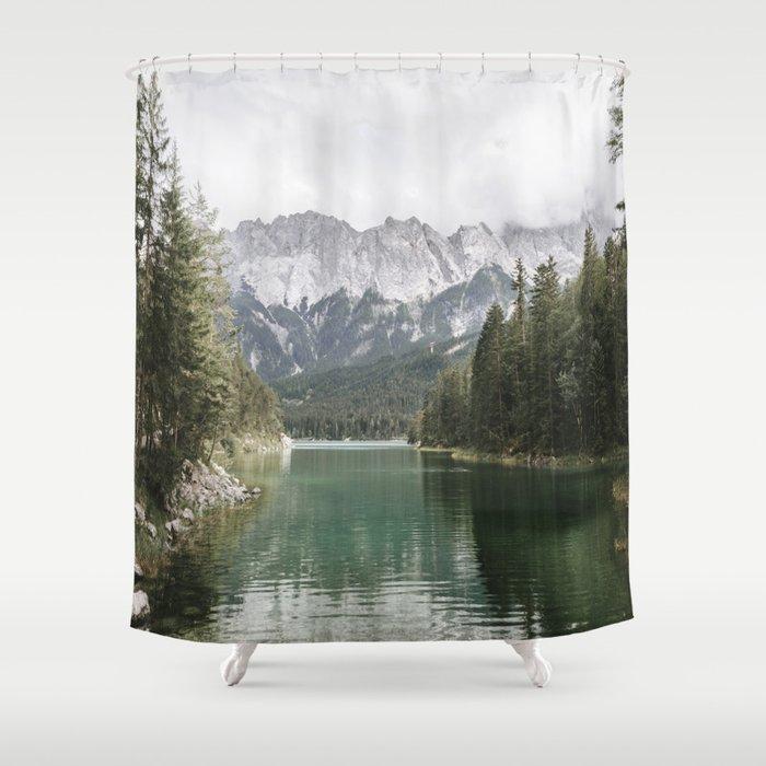 Looks like Canada - landscape photography Shower Curtain