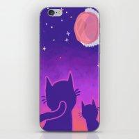 macaroon iPhone & iPod Skins featuring Macaroon Moon by Noirabbit