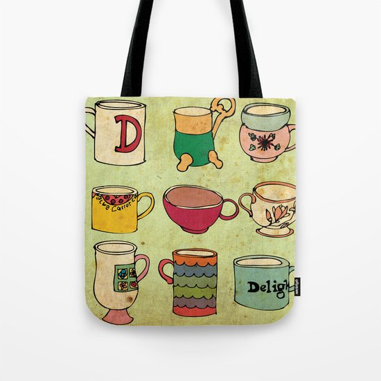My Mugs! Tote Bag