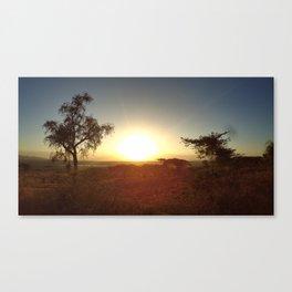 One Kenyan Morning Canvas Print