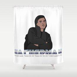 Hackerman Shower Curtain