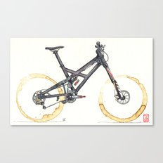 Coffee Wheels #05 Canvas Print