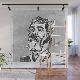 Distinguished Orcish Gentleman Black and White Photo Wall Mural