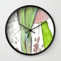 I love you gams Wall Clock