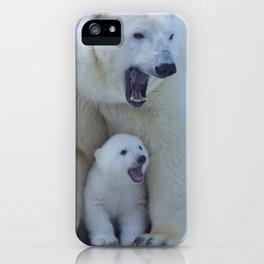 Bear polar cub iPhone Case