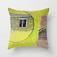 waldo Throw Pillows featuring Waldo by SSHoward