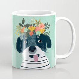PUPPY DOGS WITH FLOWERS Coffee Mug