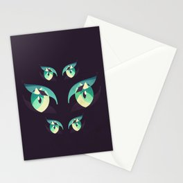Demons's eyes Stationery Cards