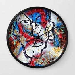 Cleft Chin Wall Clock