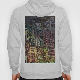 Where Are YOU -4 / Urban Density Hoody