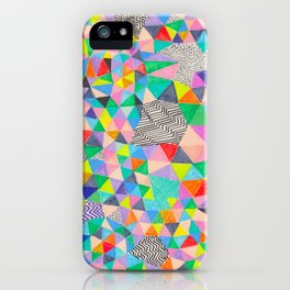 A Geometric Abstract iPhone Case