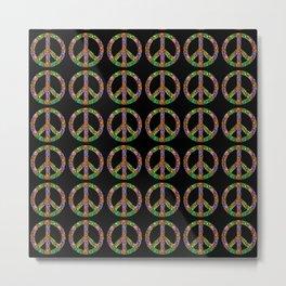 Peace 2 Metal Print