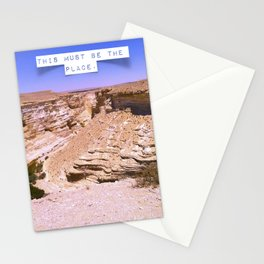 This must be the place 2. Stationery Cards