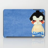 honda iPad Cases featuring A Boy - E. Honda by Christophe Chiozzi