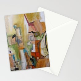 red.  Stationery Cards
