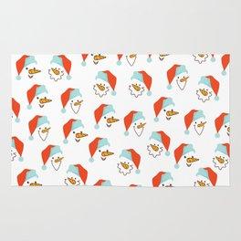 Santa Claus pattern Rug
