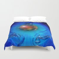 freedom Duvet Covers featuring Freedom by Walter Zettl