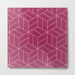 Umi pink Metal Print