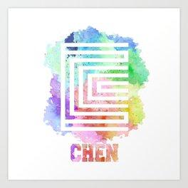 Chen Art Print