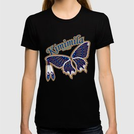 Butterfly Nation Blue T-shirt
