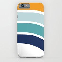 Sunrise Retro 70's Rainbow iPhone Case
