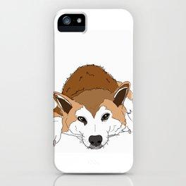 Shiba Inu Dog-Jax from London iPhone Case