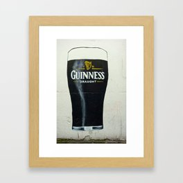 How Many Glasses of Beer on the Wall Framed Art Print