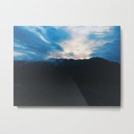 Trip to them mountains Metal Print